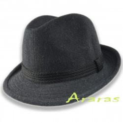 Sombrero cosido de invierno con orejeras