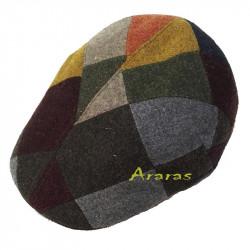 Gorra Invierno pachwork Shetland Tweed