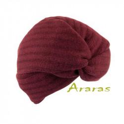 Turbante femenino de lana
