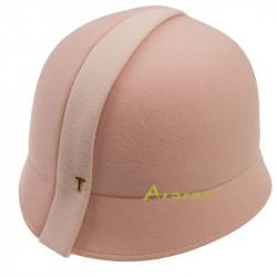 Sombrero Cloche bicolor TK356