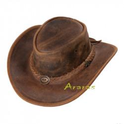 Sombrero Cowboy piel Caballo loco