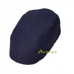 Gorra lino Gobe 4 piezas Azul