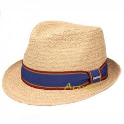 Stetson Sombrero de Paja Salango Trilby Mujer/Hombre - Playa Verano