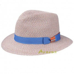 Stetson Sombrero de Paja Newkirk Toyo Mujer/Hombre
