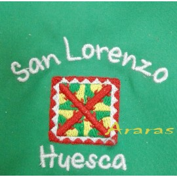 Pañoleta Bandera Huesca Niño
