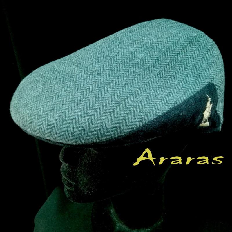 Gorra de paño invierno con dibujo de espiga varios colores. a53e329bea5