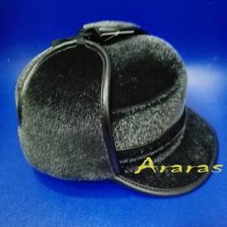 Gorra cazador piel de pelo con orejeras en Araras
