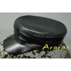 Gorra marinero  piel en Araras