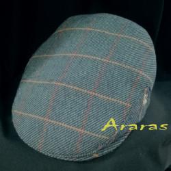 Gorra Gar de lana paño de cuadro en Araras