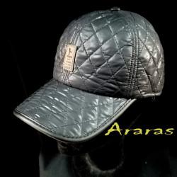 Gorra invierno tipo beisbol pespuntes y orejeras en Araras