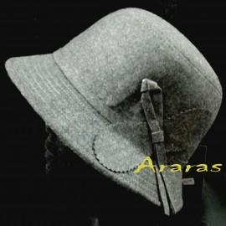 Sombrero Cloche Femenino
