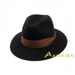 Sombrero Fur felt ala ancha baja TK08