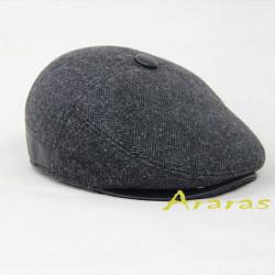 Gorra Gatsby -Orejeras ribeteada Araras
