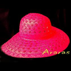 Pamela de verano calada color rojo CS 204 Araras