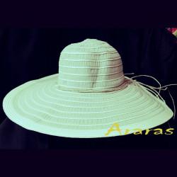 Pamela de verano mixta tela rafia bicolor Araras