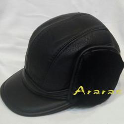 Gorra cazador piel con orejeras en Araras