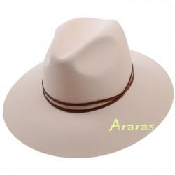 Sombrero Fedora femenino ala ancha TK385 en Araras