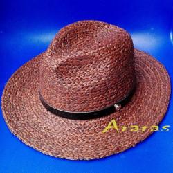 Sombrero indiana de rafia en Araras