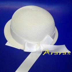 Sombrerito ceremonia bebe SL202 en Araras