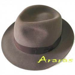 Sombrero furfelt Fedora media ala TK50