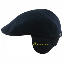 Gorra Norte con orejeras flatcap wool STK03